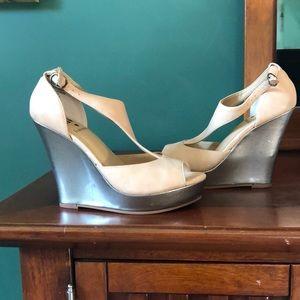 BC Francesa Platform Wedge Sandals